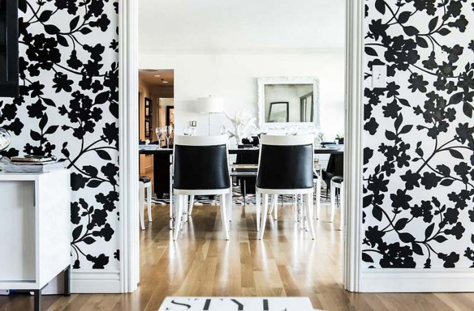 Монохромный интерьер от дизайнера janet rice5