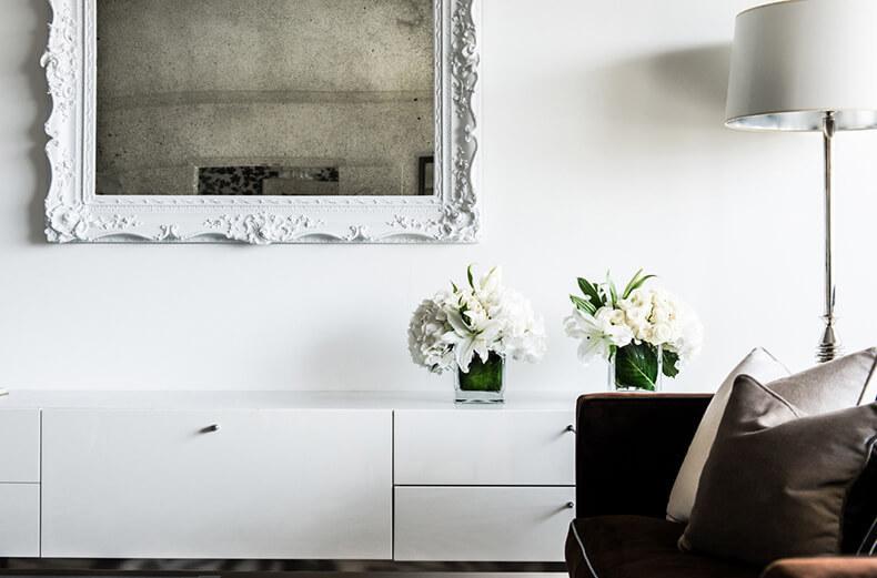 Монохромный интерьер от дизайнера janet rice6