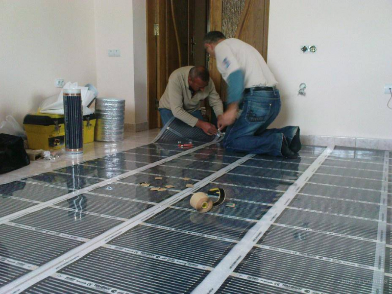 Монтаж теплых полов в бетонной стяжке: инструкция по монтажу4