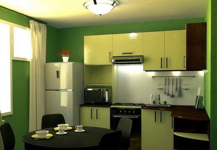 Моющаяся краска для стен кухни: разновидности материала и технология окрашивания2
