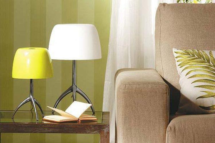 Настольная лампа в интерьере: от лоджии до прихожей, от классики до хай-тека2