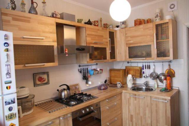 Неповторимые и стильные фасады для кухни своими руками0