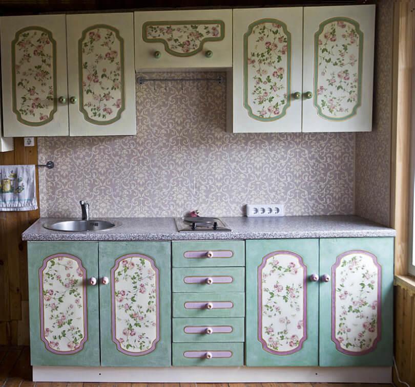 Неповторимые и стильные фасады для кухни своими руками4