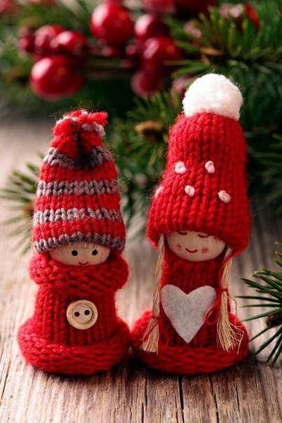 Новогодний декор – вязаные украшения своими руками1