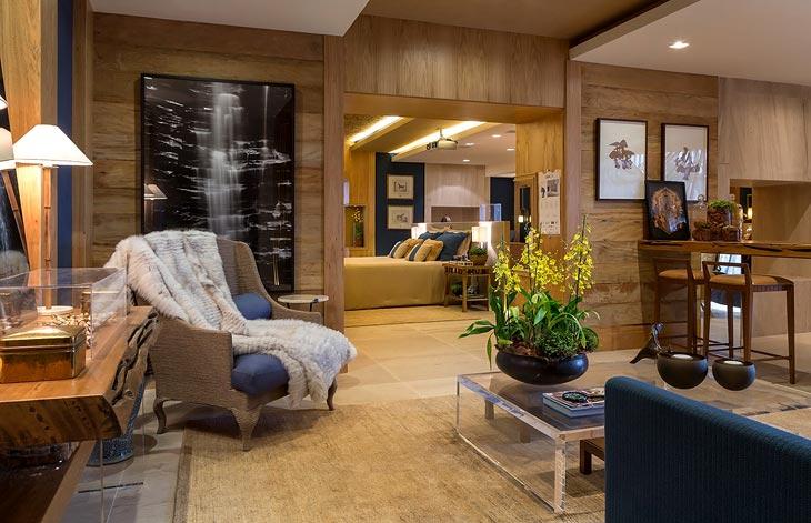 Обилие натурального дерева в интерьере дома (работа дизайн студии negrelli e teixeira)2