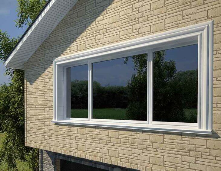 Обрамление и отделка окон на фасаде и в интерьере7