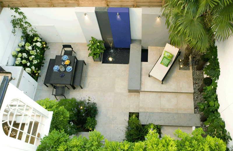 Обустройство придомовой территории частного дома — создаем свой дизайн2