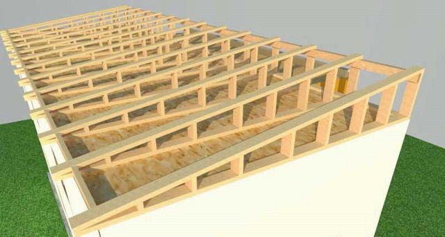 Односкатная крыша1