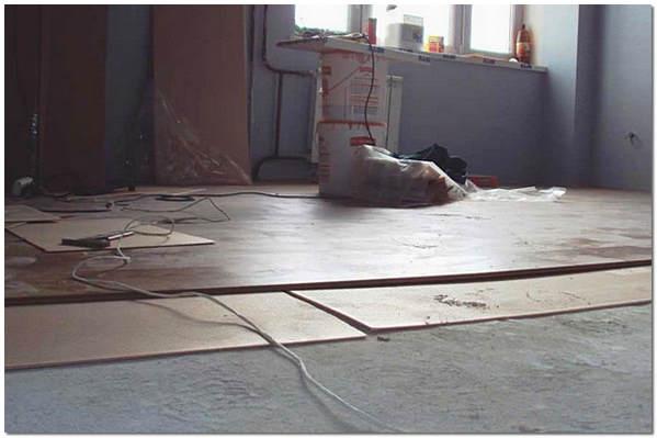Особенности укладки ламината на бетонный пол0