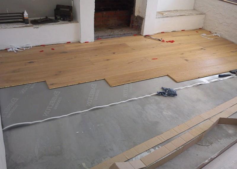 Особенности укладки ламината на бетонный пол3