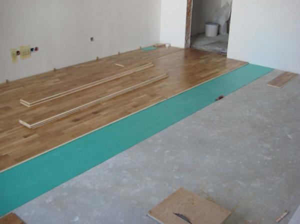 Особенности укладки ламината на бетонный пол4
