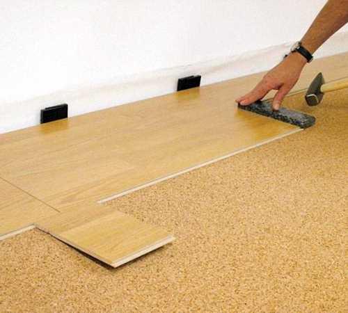 Особенности укладки ламината на бетонный пол5
