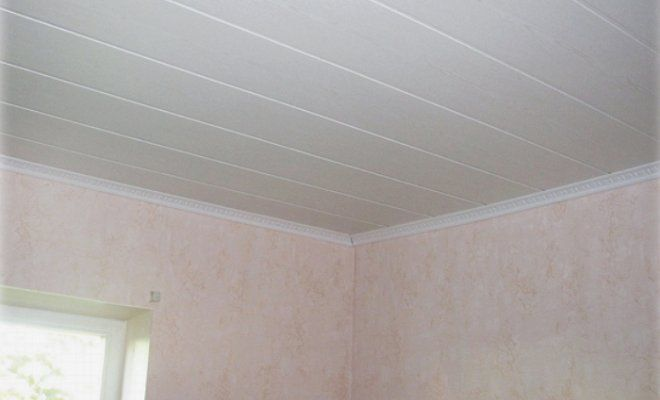 Панели для потолка в комнате: дешево и красиво4