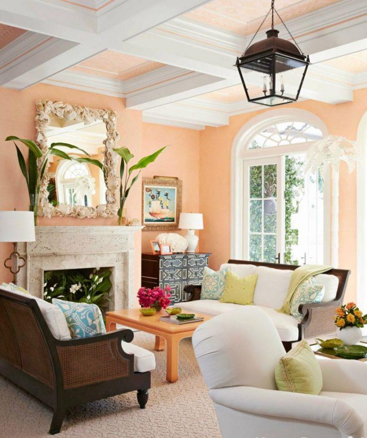 Персиковые гостиные2