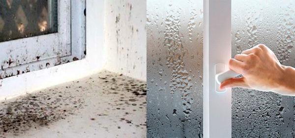 Почему потеют пластиковые окна в доме и как этого избежать?3