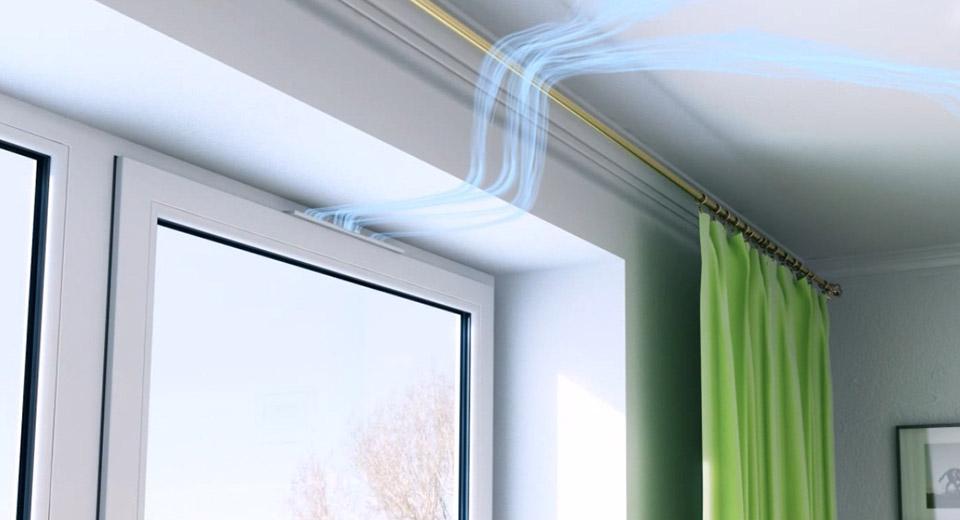 Почему так важен приточный клапан на пластиковом окне?3