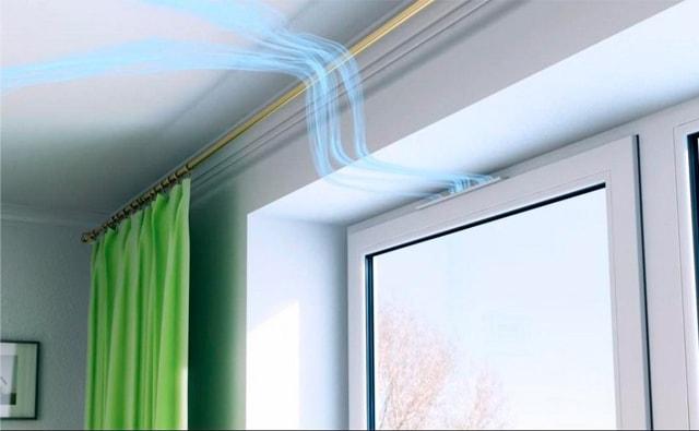 Почему так важен приточный клапан на пластиковом окне?4