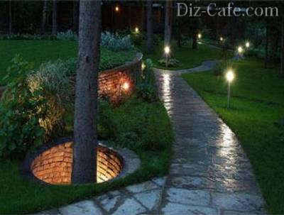 Подсветка садовых дорожек своими руками1