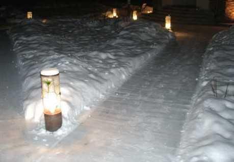 Подсветка садовых дорожек своими руками4
