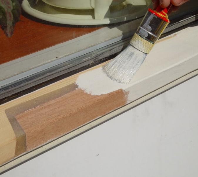 Покраска деревянных окон: технология выполнения работ своими руками2