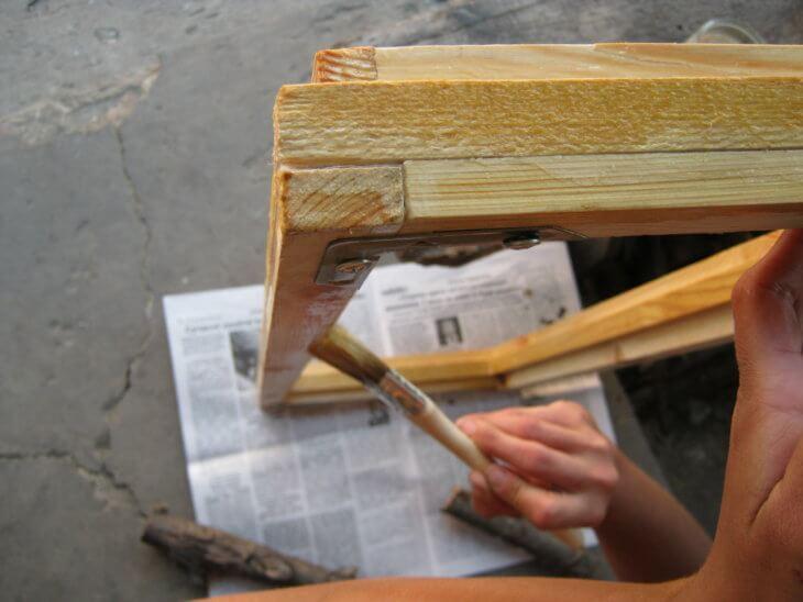 Покраска деревянных окон: технология выполнения работ своими руками3