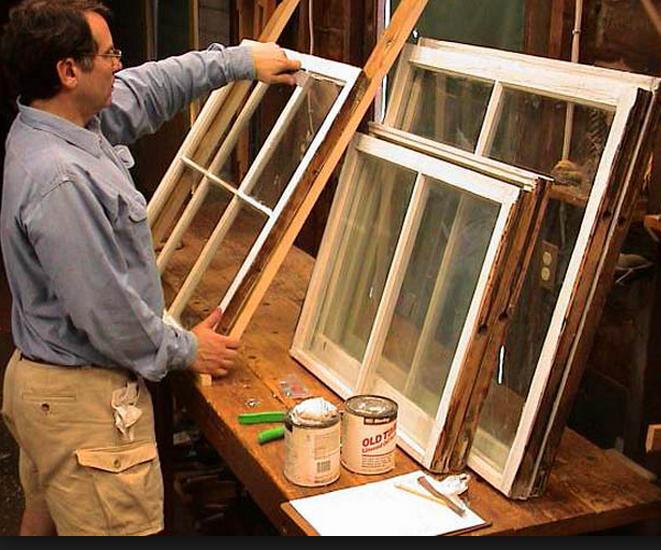 Покраска деревянных окон: технология выполнения работ своими руками4