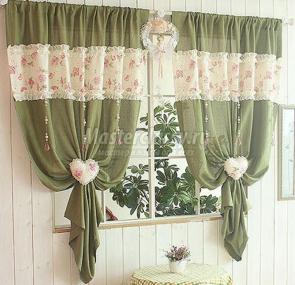 Покрой штор своими руками: пошаговая инструкция0
