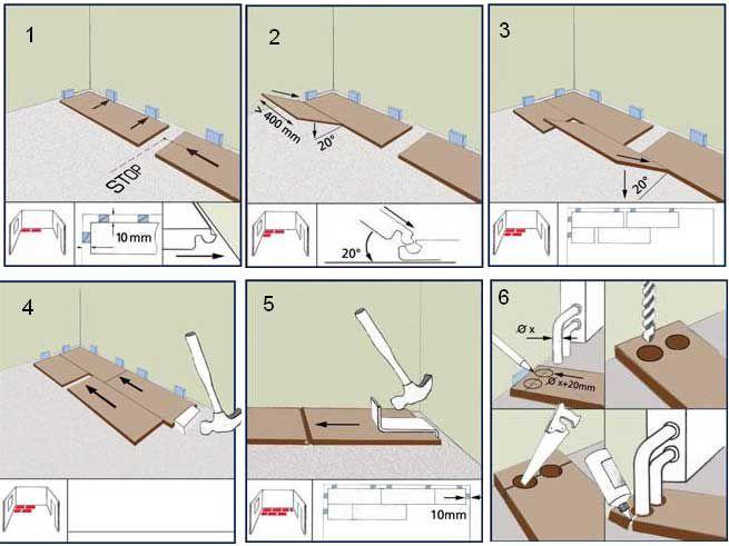 Пошаговая инструкция по укладке ламината3