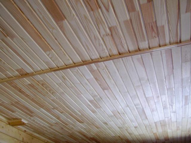 Потолок из вагонки – достойный симбиоз цены и качества4