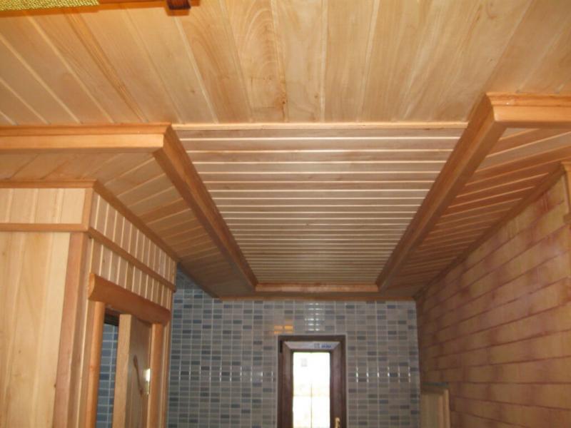 Потолок из вагонки – достойный симбиоз цены и качества0