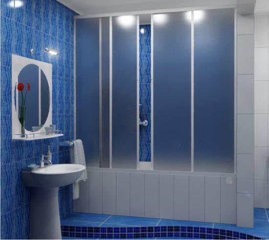 Практичные шторки для ванной3