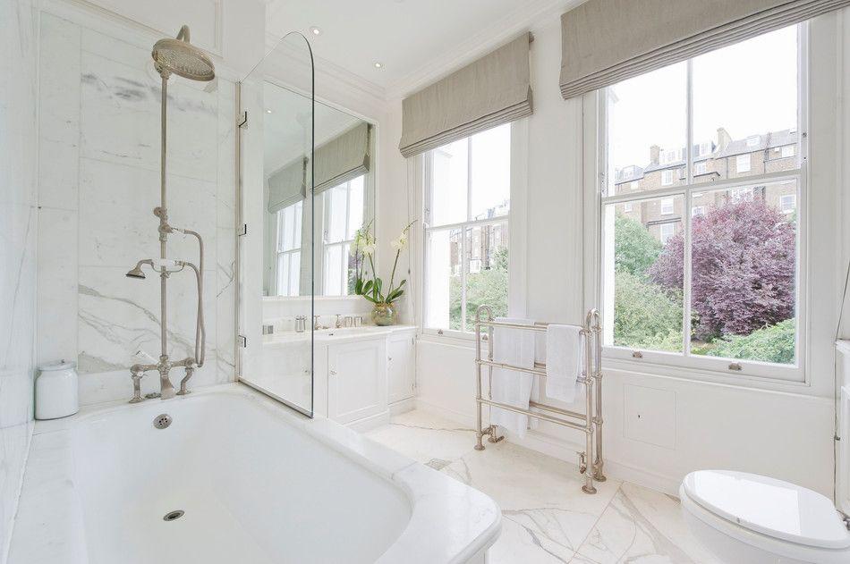 Практичные шторки для ванной4