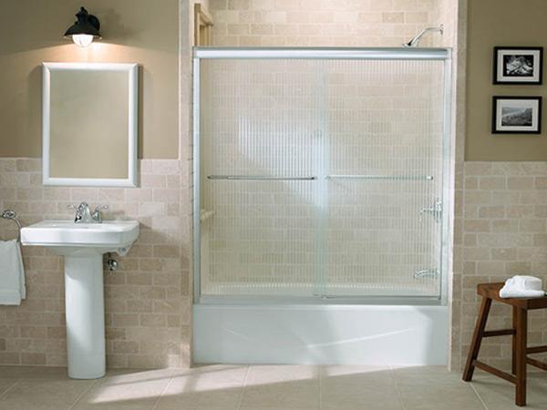 Практичные шторки для ванной8