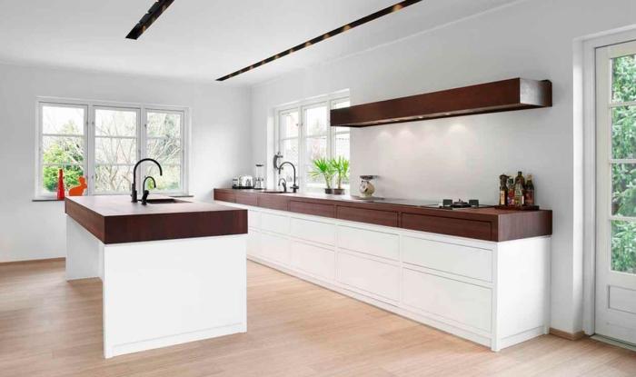 Практика применения обоев под покраску на кухне5