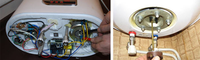 Причины неисправности и ремонт водонагревателей2