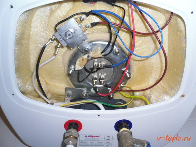 Причины неисправности и ремонт водонагревателей3