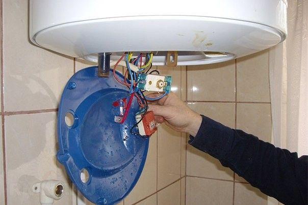 Причины неисправности и ремонт водонагревателей5