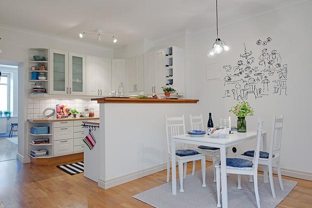 Привлекательные и оригинальные варианты дизайна кухни5