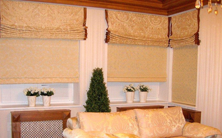 Римские шторы своими руками сшить: инструкция4