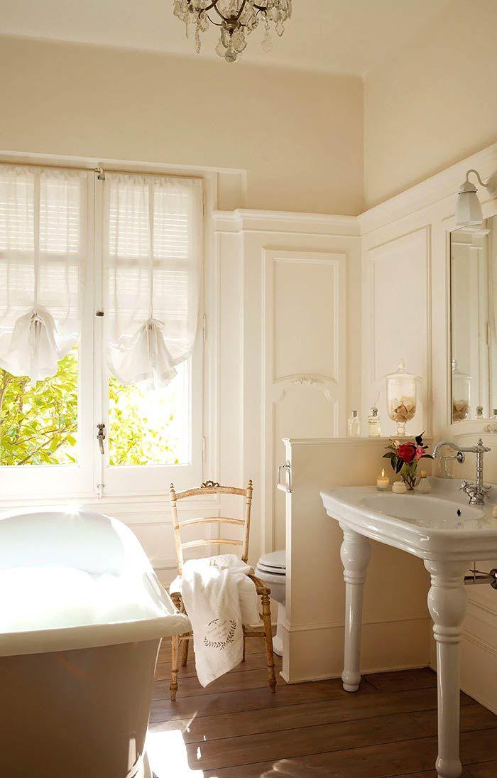 Романтическая нежность в оформлении спальни с ванной комнатой2