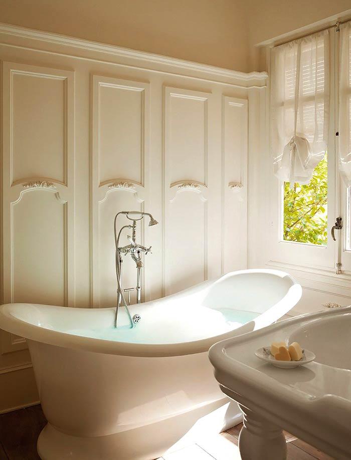 Романтическая нежность в оформлении спальни с ванной комнатой3