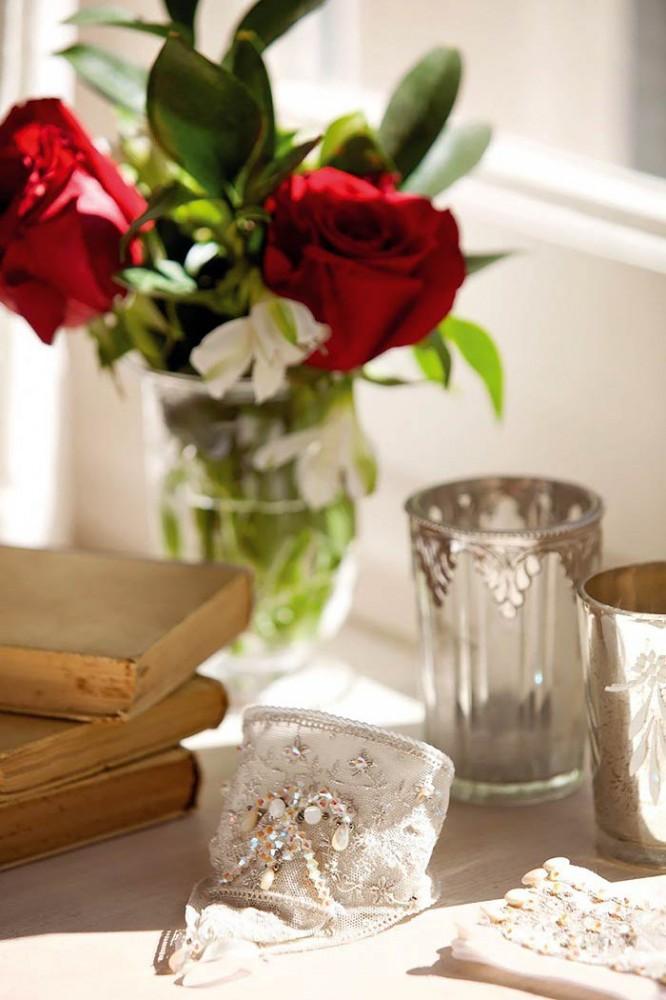 Романтическая нежность в оформлении спальни с ванной комнатой6