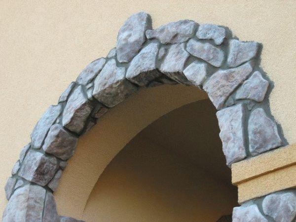 Самостоятельная отделка арок декоративным камнем: преимущества, варианты оформления2