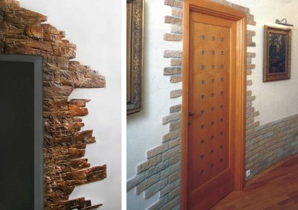 Самостоятельная отделка арок декоративным камнем: преимущества, варианты оформления6