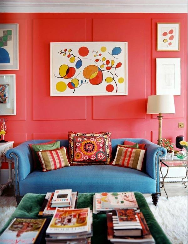 Страстный красный! как использовать красный цвет в интерьере1