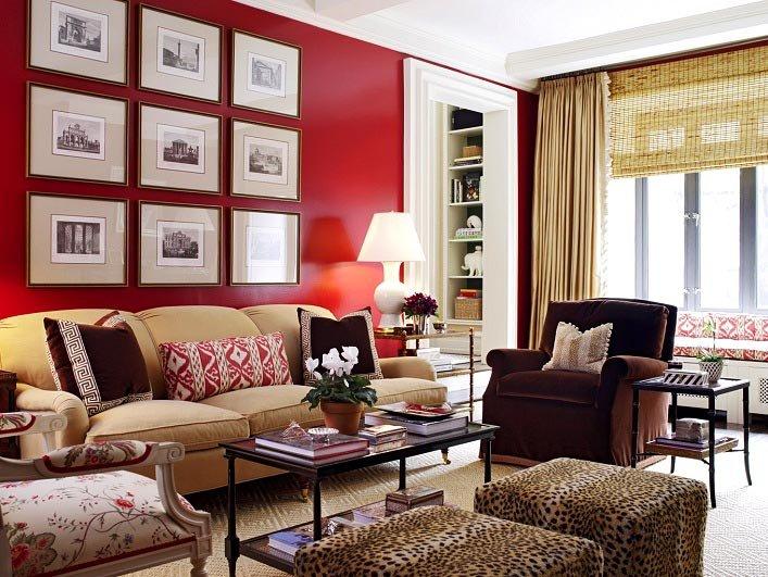 Страстный красный! как использовать красный цвет в интерьере4