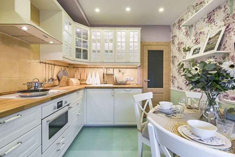 Свежие идеи интерьера кухни0