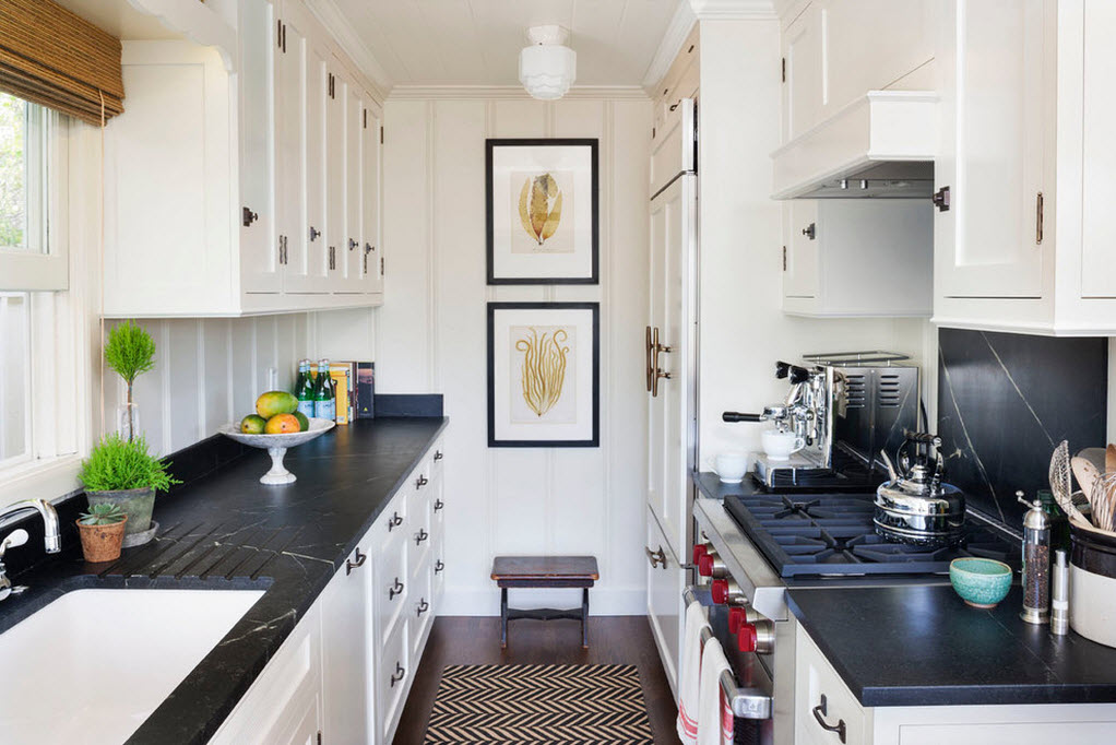 Свежие идеи интерьера кухни1