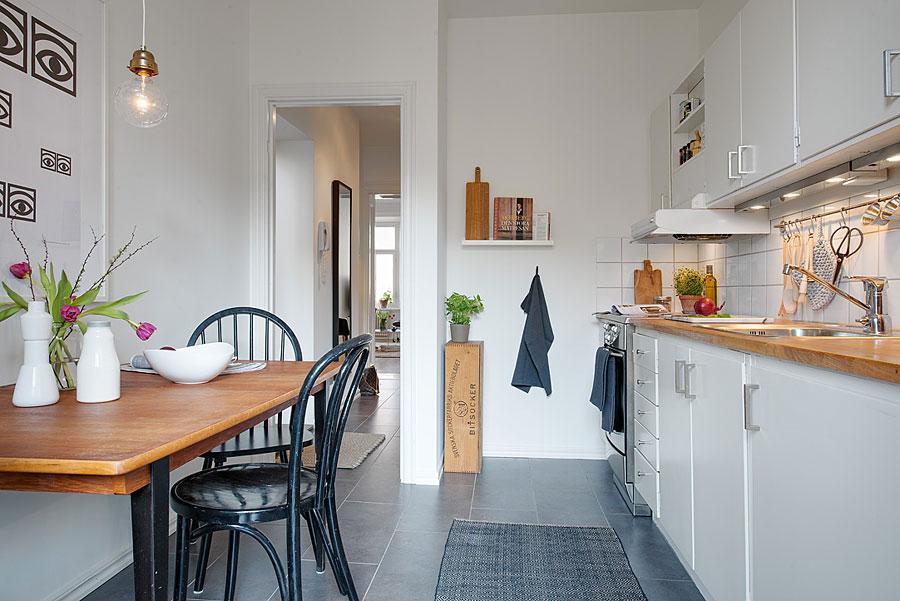 Свежие идеи интерьера кухни2