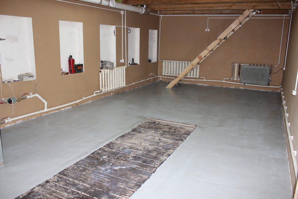 Теплый пол в гараже: особенности выбора и монтажа5
